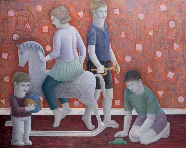 Play, 2010 (oil on canvas)
