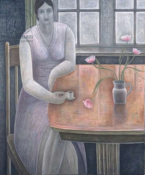 Woman with Small Cup