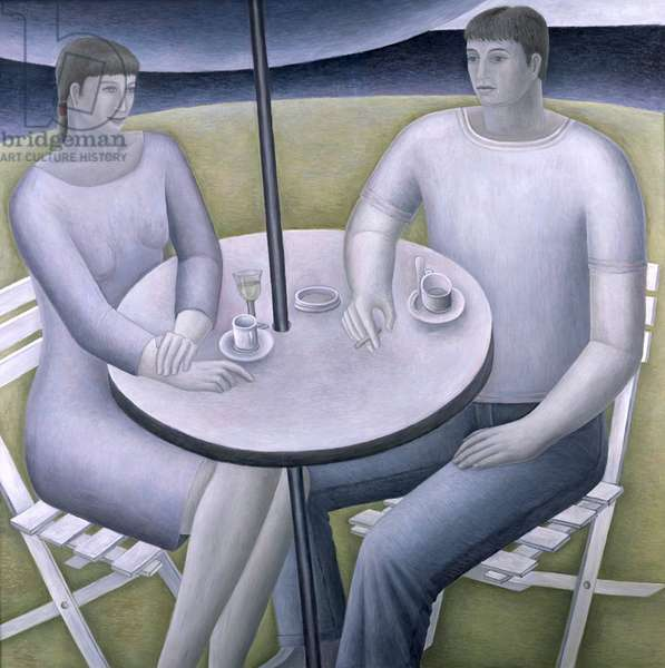 Man and Woman,  1998 (oil on board)