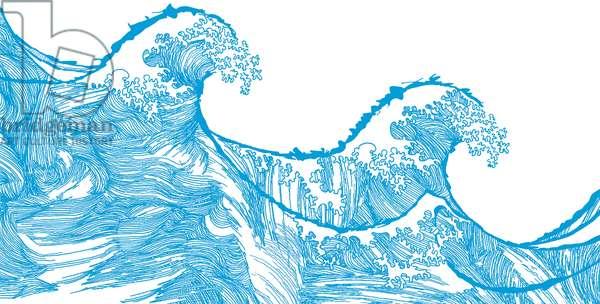 Kanagawa Wave, 2009 (digital)