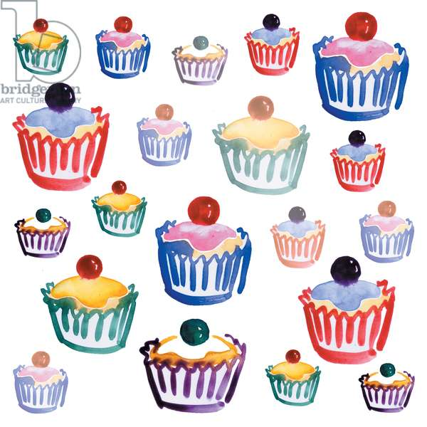 Cupcake Crazy, 2008 (digital)