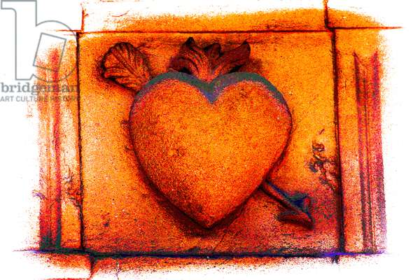 Georgian Heart, from the series Hearts (photograph)