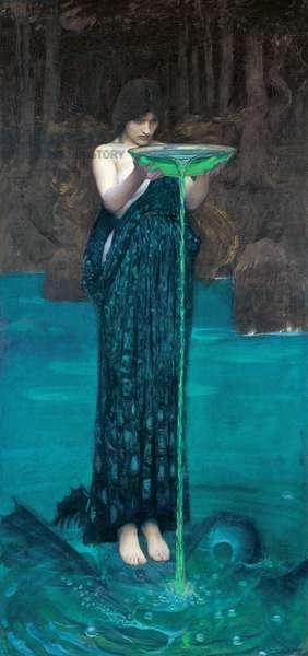 Circe Invidiosa, 1892 (oil on canvas)
