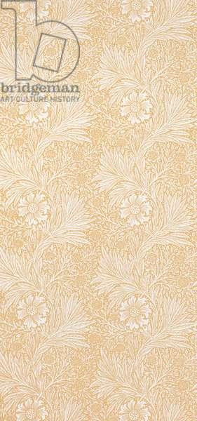 Marigold wallpaper, c.1900 (colour woodcut on paper)