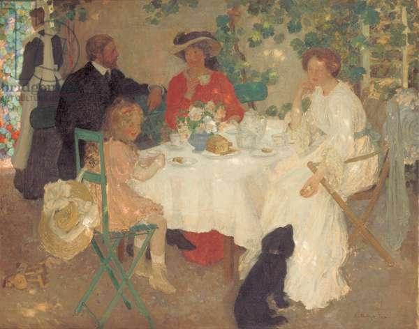 Al Fresco, c.1904 (oil on canvas)