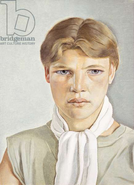 Boy with white scarf, 1949 (oil on canvas)