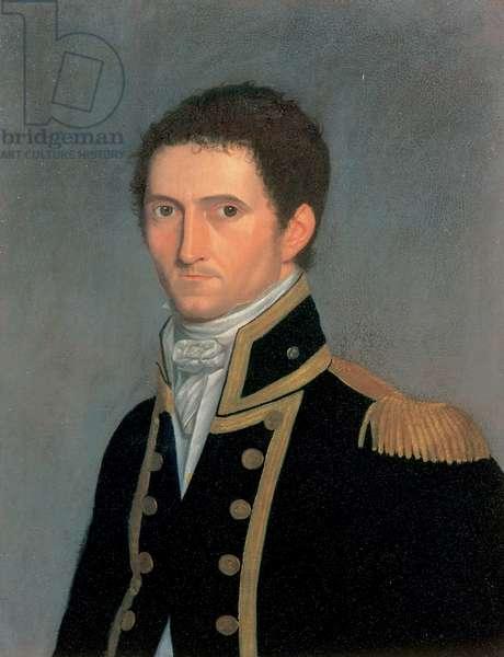 Portrait of Captain Matthew Flinders, RN, 1774-1814, 1806-07 (oil on canvas)