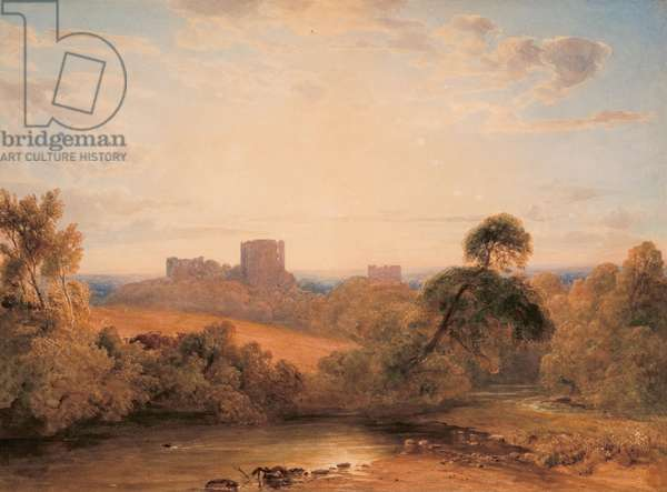 Kenilworth Castle, c.1827 (w/c on paper)