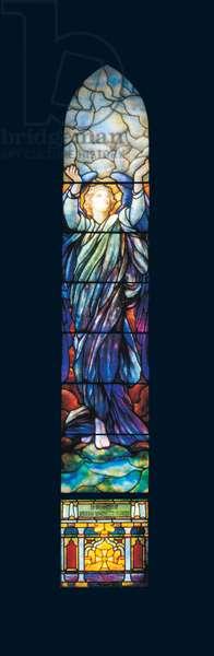 Angel of Faith, c.1909 (glass & lead)