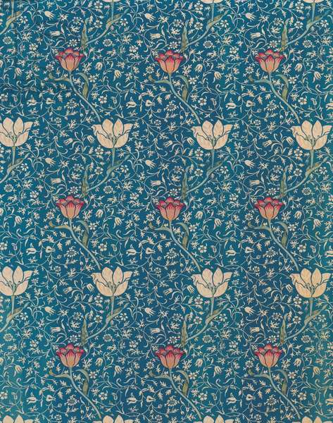 Medway curtain, c.1900 (colour woodblock print on cotton)