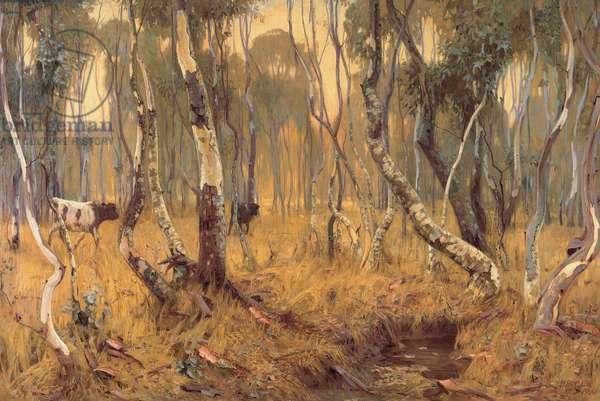 Mystic Morn, 1904 (oil on canvas)