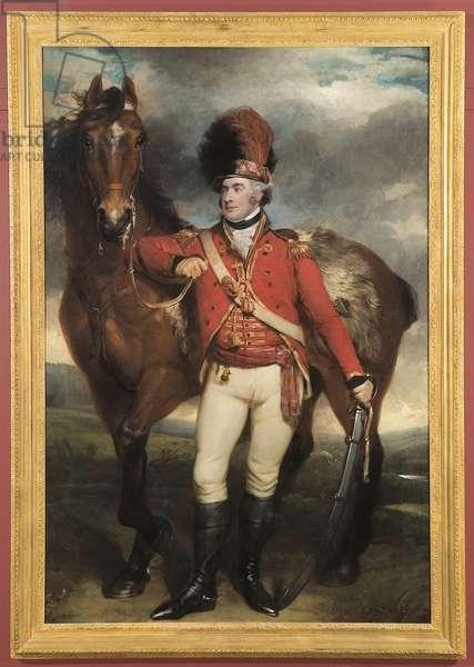 Major O'Shea of the Loyal Cork Legion, 1798 (oil on canvas)