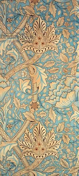Windrush (furnishing fabric) c.1900 (colour woodblock print on cotton)