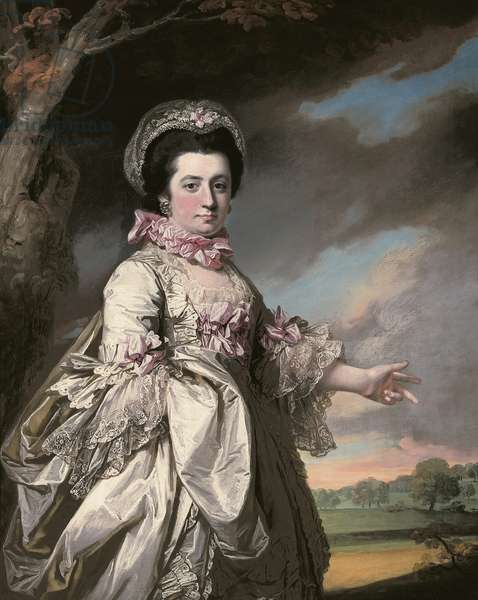 Elizabeth, Lady Jones, 1769 (oil on canvas)