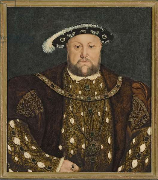 King Henry VIII, c.1540s (oil on wood panel)