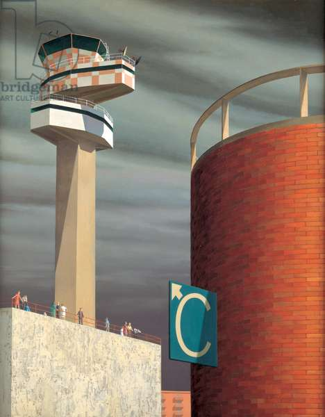 Control Tower, c.1969 (oil on canvas)