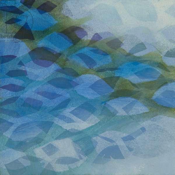 Umbrella Painting I blue