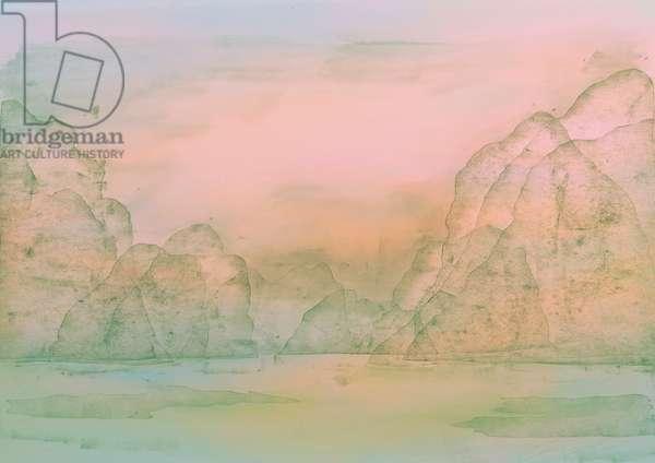 Opal Water, 2018, original print