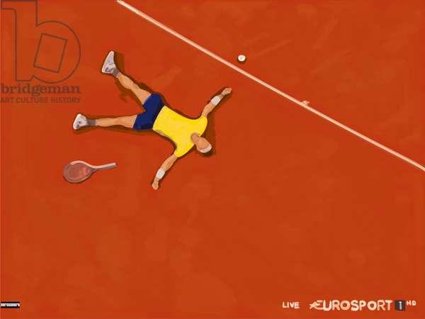 Rafael Nadal, 2021, Mixed Media