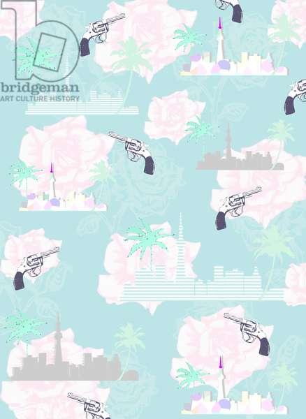 Paradise City, 2015 (Illustration, Digital)