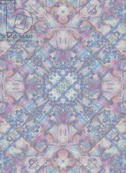 Spring Geo, 2015 (Mixed Media Digital Print)