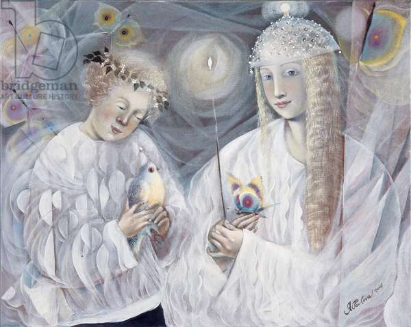 Gemini, 2006 (oil on Belgian linen)
