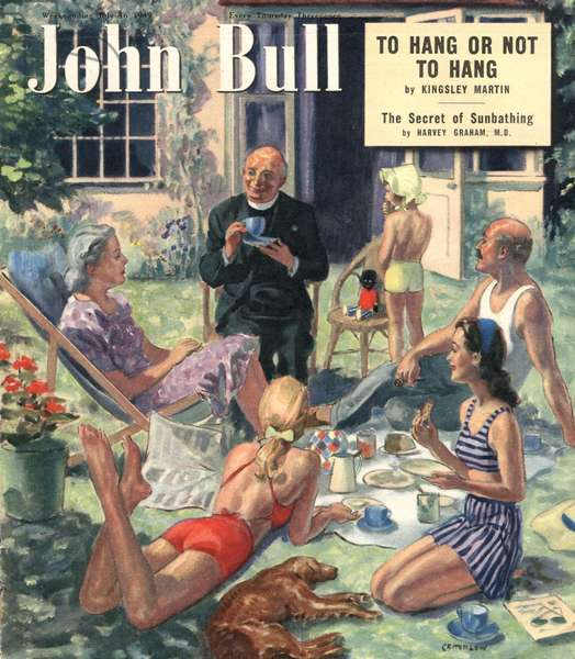 Front cover of 'John Bull', July 1949 (colour litho)