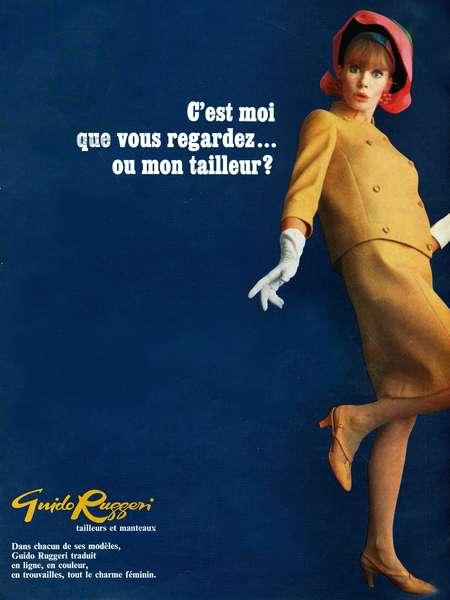 Guido Ruggeri Magazine Advert, 1960s (colour litho)
