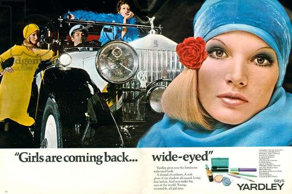 Yardley Magazine Advert, 1960s (colour litho)