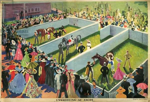 Illustration from magazine, 1939 (litho)