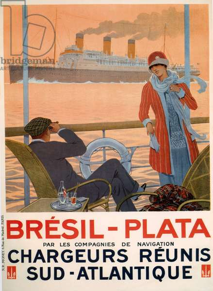 Brazil-Plata Poster, 1928 (colour litho)