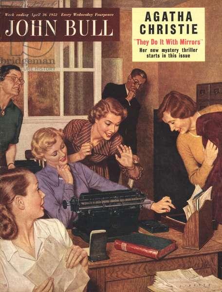 Front cover of 'John Bull', April 1952 (colour litho)