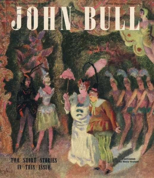 Front cover of 'John Bull', December 1946 (colour litho)