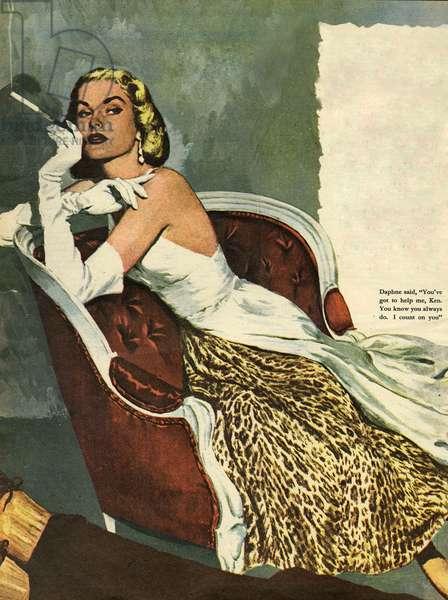 Women's Fashion, illustration from 'John Bull' (colour litho)