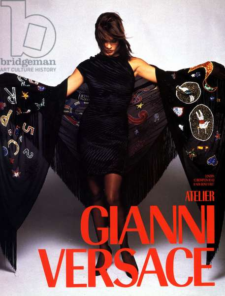 UK Versace Magazine Advert, 1980s