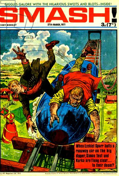 Smash! Magazine Cover, 27th March 1971 (colour litho)