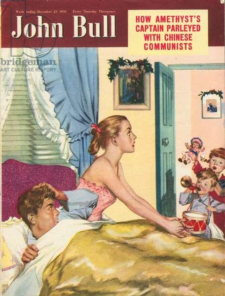 Front cover of 'John Bull', December 1950 (colour litho)