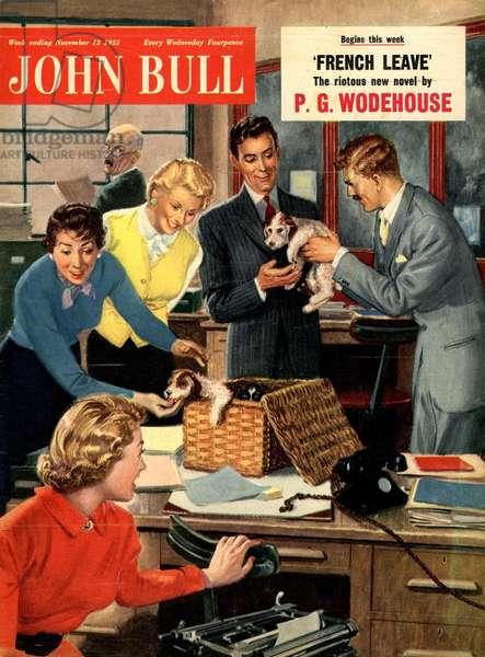 Front cover of 'John Bull', November 1951 (colour litho)