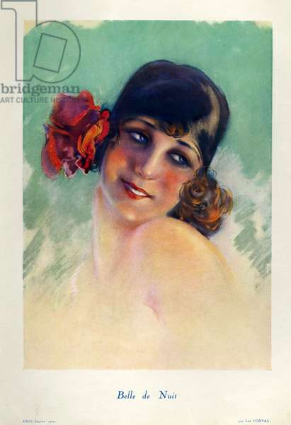 Front cover of 'Eros', January 1920 (colour litho)