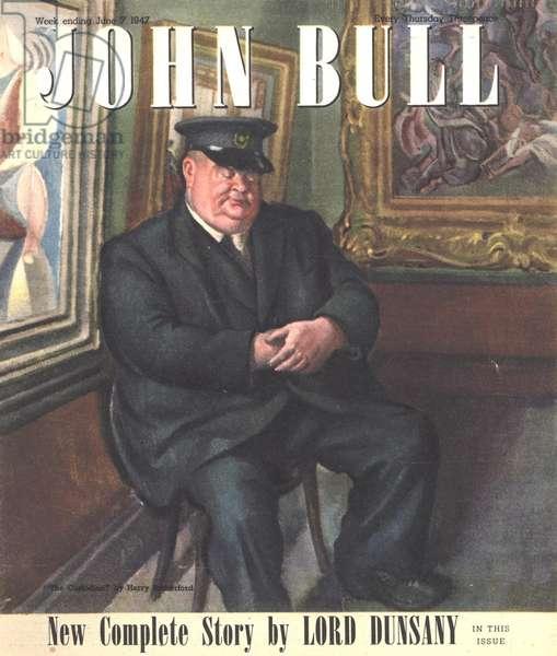 Front cover of 'John Bull', June 1947 (colour litho)