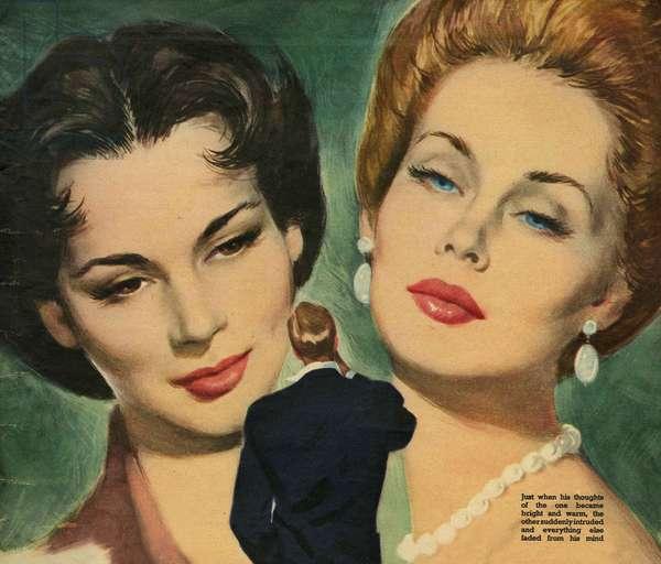 Illustration from 'John Bull', 1953 (colour litho)