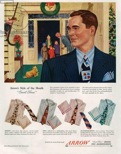 Arrow Magazine Advert, 1948 (colour litho)