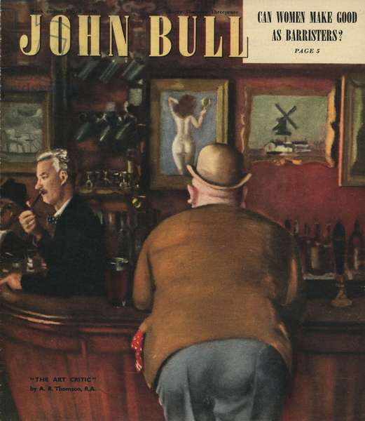 Front cover of 'John Bull', May 1948 (colour litho)