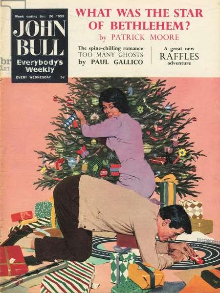 Front cover of 'John Bull', December 1959 (colour litho)