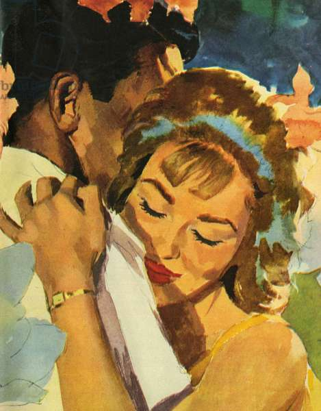 Illustration from magazine, 1962 (colour litho)