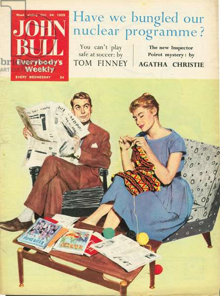 Front cover of 'John Bull', October 1959 (colour litho)
