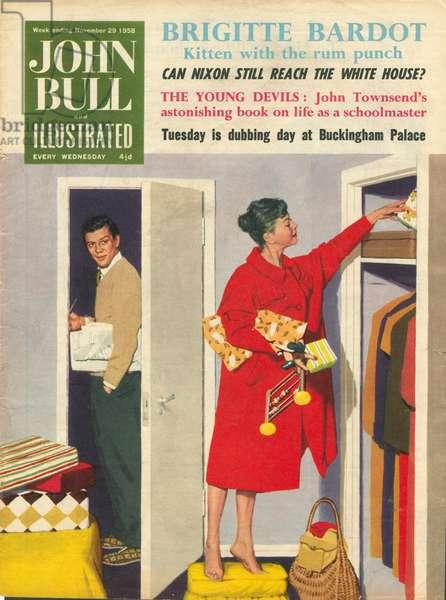 Front cover of 'John Bull', November 1959 (colour litho)
