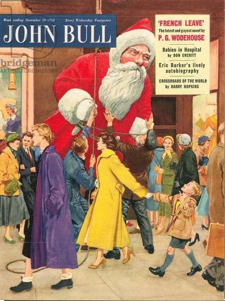 Front cover of 'John Bull', November 1955 (colour litho)