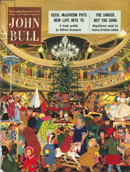 Front cover of 'John Bull', December 1952 (colour litho)