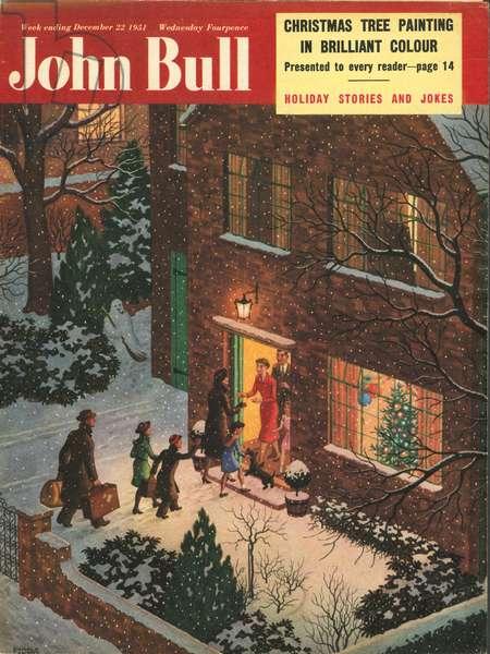 Front cover of 'John Bull', December 1951 (colour litho)